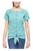 Salewa Landro S/S Shirt Women Dry M reef/pagoda/pool b